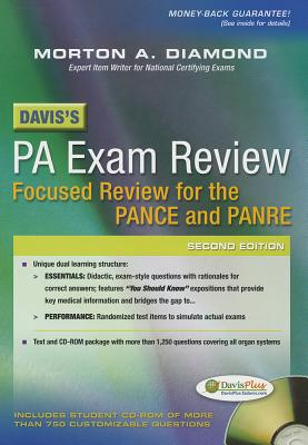 Davis's PA Exam Review By Diamond, Morton A.